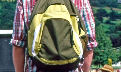 The rucksack: a no-no