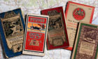 Vintage Ordnance Survey maps