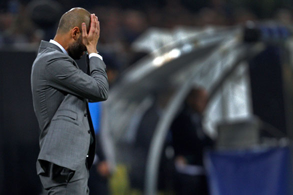 Guardiola was out thought by the man who used to put down the cones for him during Barcelona training sessions. Mourinho produced not one but two game plans and both worked a treat   Matt Hughes