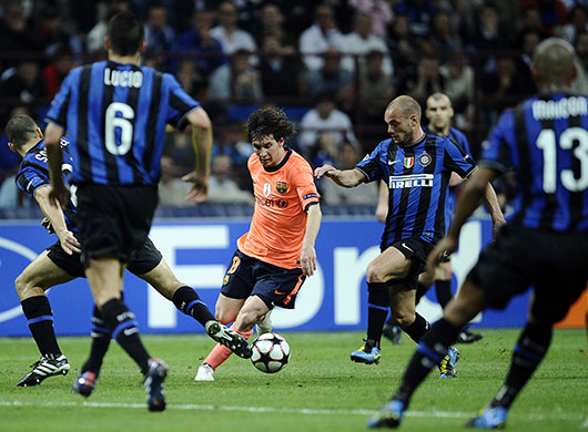 Match Highlights: Lionel Messi (Barcelona) vs Inter Milan
