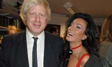 Boris Johnson and Nancy Dell'Olio