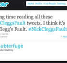 Nick Clegg's fault