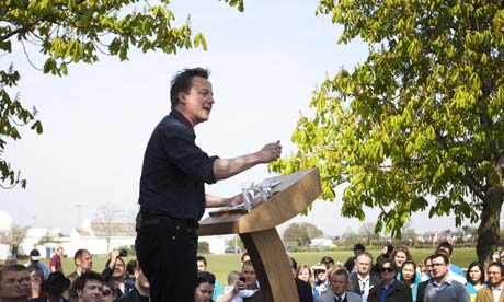 David Cameron in Thurrock