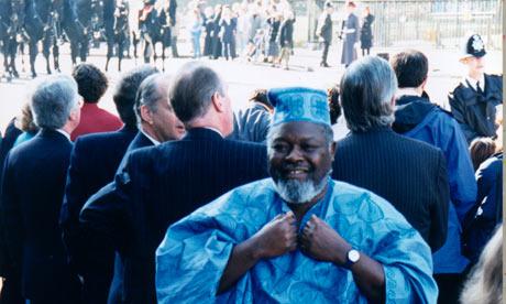 Bernie Grant in 1996