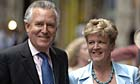 Elizabeth Haywood and Peter Hain
