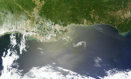 Nasa: Gulf oil spill creeps towards Mississippi Delta