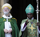 Archbishops Rowan Williams and John Sentamu
