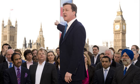 David Cameron at County Hall, London