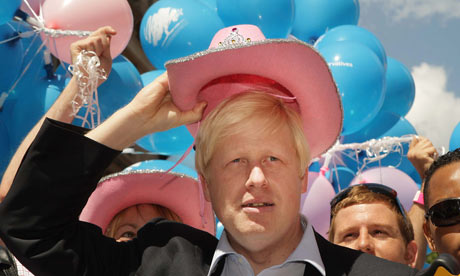 Gay Pride and Boris Johnson