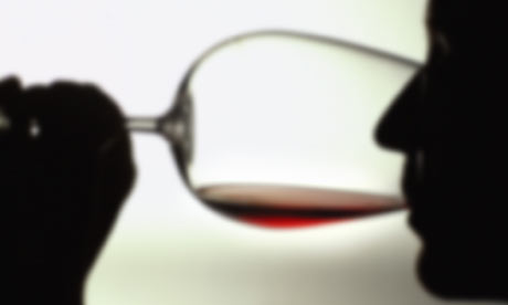 Drinking Wine Silhouette Drinking Less Wine Than
