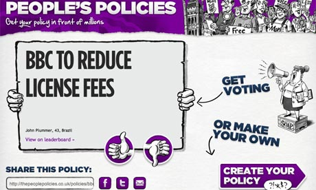 People's Policies screengrab