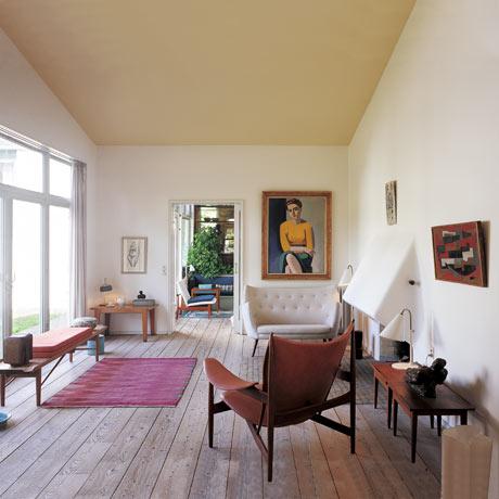 Finn Juhl interior: modern world