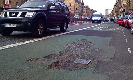 Leith Walk potholes: Leith Walk potholes