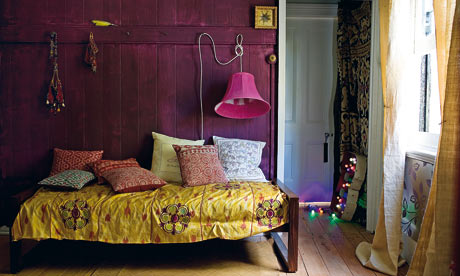 Homes: God of small things, purple room