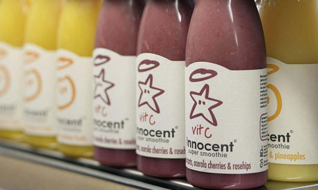 Coca-Cola invests in Innocent smoothies