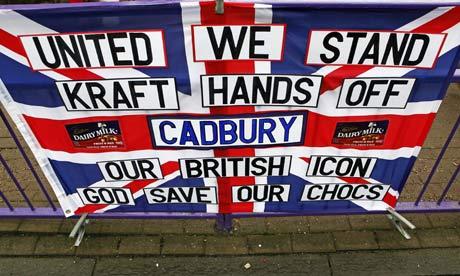 Cadburys protest Kraft