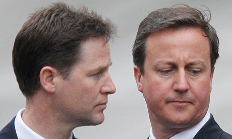 Nick Clegg David Cameron