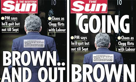 The Sun and Scottish Sun