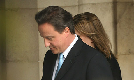David Cameron on 11 May 2010.