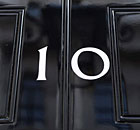 Door to 10 Downing Street