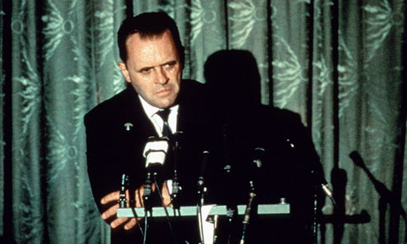 Anthony Hopkins as Nixon