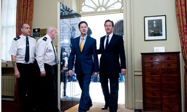 coalition clegg cameron
