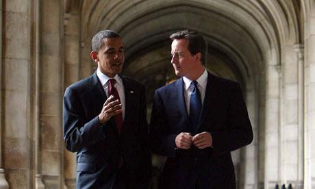 Barack Obama David Cameron 2008