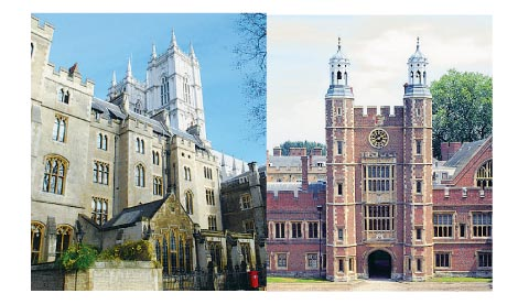 Westminster and Eton.