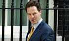 Nick Clegg will not have an office in Downing Street