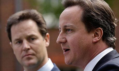 David Cameron and Nick Cl 005 Seismic shift in UK politics