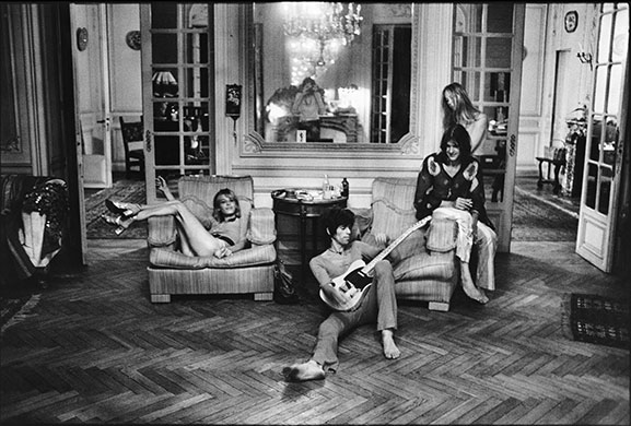 the rolling stones at villa nellc te music the guardian. Black Bedroom Furniture Sets. Home Design Ideas