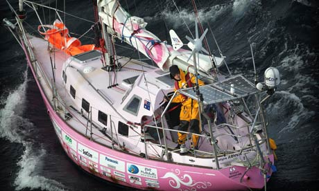 16-yr old completes lone circumnavigation - The Club House