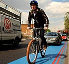 Adam Gabbatt on the cycle superhighway in south London