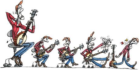 Tim Dowling column: banjo pain