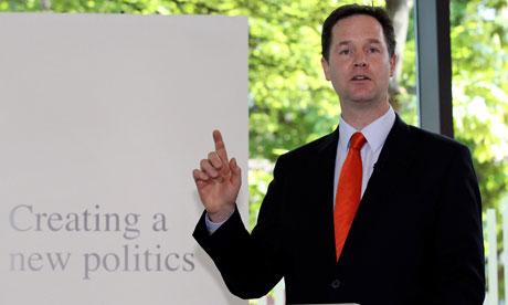 Nick Clegg political reform