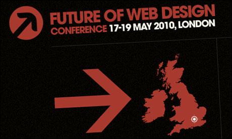 Future of web design conference logo