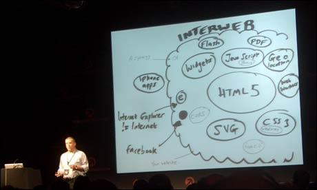 Opera's Bruce Lawson at Future Of Web Design