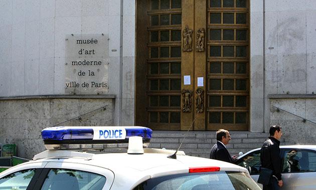 Paris Theft Paris Art Theft Police
