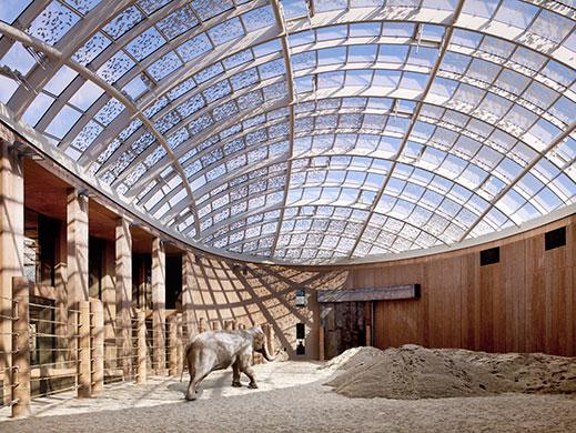 丹麦哥本哈根动物园的象舍