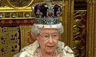 The Queen delivers the Queen's speech on 25 May 2010.