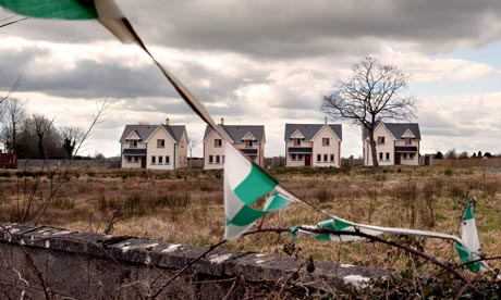An abandoned housing estate in Longford, Ireland