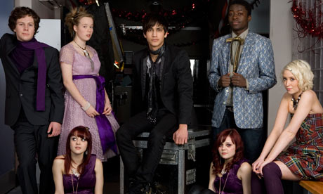 Skins, the sex, drink and drug-fuelled drama that depicts teenage life as it ...