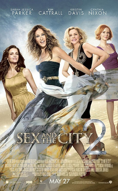 There are still a few weeks to go until Sex and the City 2 is out.