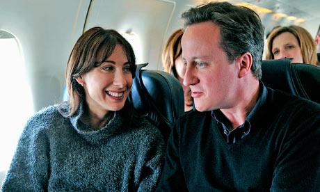 David Cameron campaigns