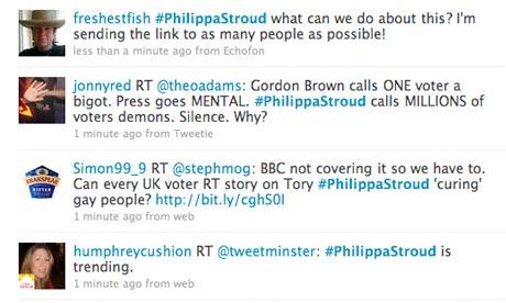 #PhilippaStroud Twitter hashtag