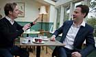 Nick Clegg with Colin Firth
