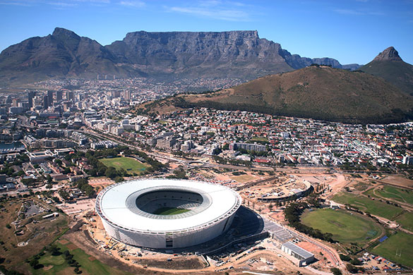 World Cup 2010 stadiums in South Africa: Photo Gallery