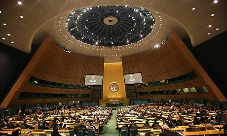 The United Nations Nuclear Non-Proliferation Treaty (NPT) review conference in New York