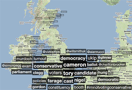 Election day Trendsmap