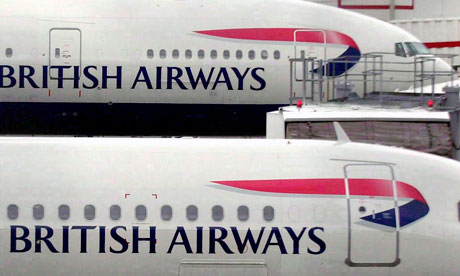 British Airways Plc cabin crew to vote on industrial action